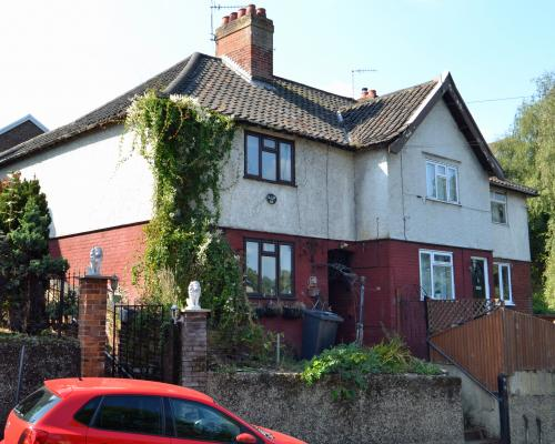 108 Ketts Hill up for auction with a guide price of 85000