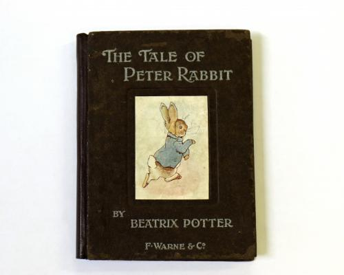 Beatrix Potter The Tale of Peter Rabbit 1902 first edition estimate 800 1000 1