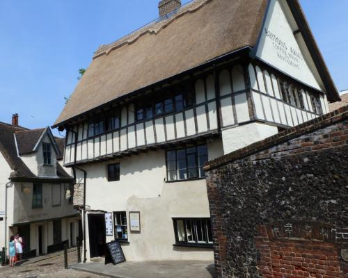 The 14th century Britons Arms in Norwich