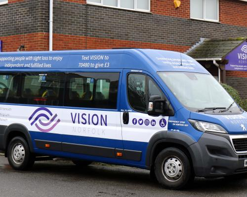 The Vision Norfolk mobile unit which will be touring the county sm