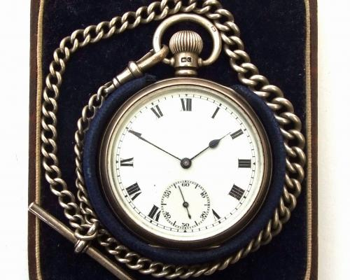 The Walter Allen watch front view
