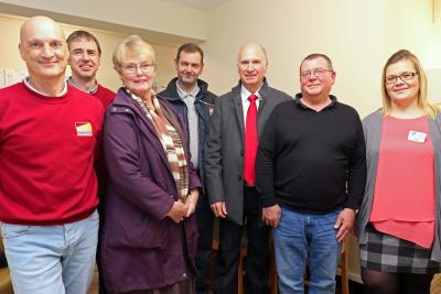 Property 1st hand over the new staff room at the NNABs Thomas Tawell House care home sm