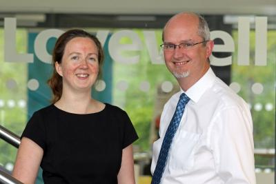 Sarah Edmunds and Robin Carnaby of Lovewell Blake Financial Planning